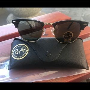 Accessories - Ray ban 3016 clubmaster sunglasses